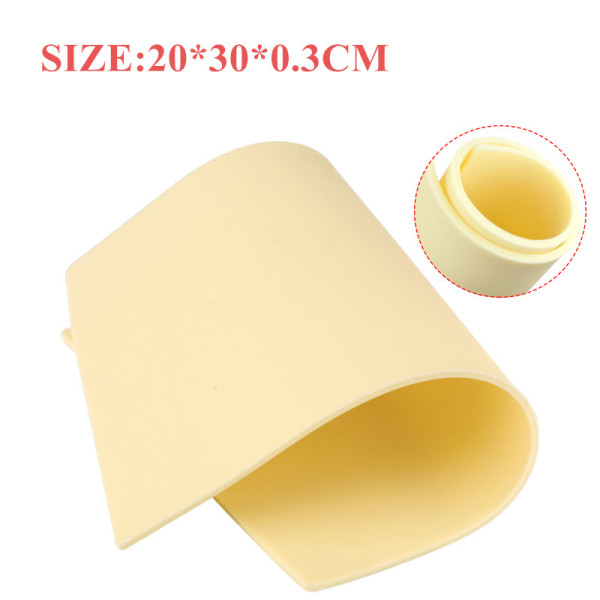 One Professional Silicone Blank Double Sides 20*30*0.3CM Tattoo Practice Skins For Makeup Eyebrow Tattoo Accessories Supply
