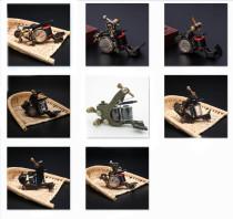 Original 10 Wrap Coil Tattoo Machine Gun Professional Custom Handmade Luo's Tattoo Machine Gun Supply