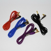 One Hot Latest Best Quality YRYTAT 1.8M Silicone RCA Tattoo Machine Power Clip Cord Supply