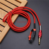Hot Best Quality 1.8M Silicone Tattoo Machine Clip Cord For Tattoo Makeup Machine Power Cord Supply