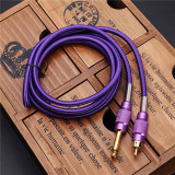 New Hot RCA Interface Cable Tattoo Clip Cord Hook Line For Permanent Tattoo Machine Makeup Power Cord Supply