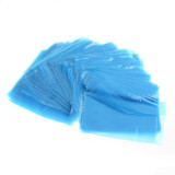 250PCS Plastic Clear Blue Tattoo Machine Cover Bags Sleeves For Permanent Tattoo Equipment Accessories Tool Supply