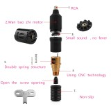 One Precision HP-2+ Tattoo Power Supply & One Top Alloy Motor Rotary Tattoo Machine Pen Kit Set Supply