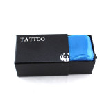 100PCS Blue Durable Plastic Tattoo Machine Clip Cord Sleeves Covers Bags Supply