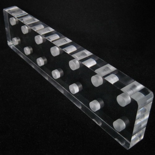 One Acrylic Tattoo Grip Tip Tube Holder Stand Supply