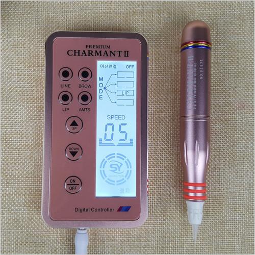 Digital PREMIUM CHARMANT Ⅱ Permanent Makeup Machine Pen Kit For Eyebrows Lips Body Tattoo Supply