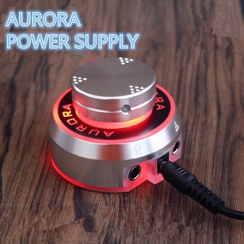 One Mini Critical AURORA-1 Tattoo Power Supply With Knob To Adjust Voltage Supply