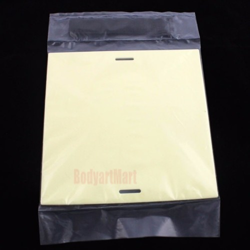 One High Quality Blank Tattoo Practice Skin Thick 20 x 20cm Fake Imitation Skin Leather Tattoo Accessories Supply