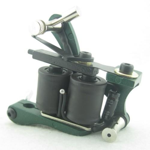 One Custom Top Aluminum Alloy 8 Wrap Coils Pro Tattoo Machine Gun Tools Supply