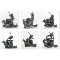 One Carbon Steel Top Tattoo Machine Gun For Kit Power Set Tattoo Tools Supply