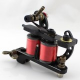 One 10 Wrap Coil Professional Top Liner/Shader Tattoo Machine Gun For Kit Set Tatoo Tools Supply