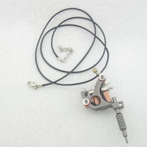 One Mini Toy Tattoo machine Gun As Pendant Ornament Supply