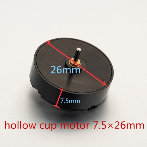 One Pro 7.5×26mm Hollow Cup Motor For Rotary Tattoo Machine Supply