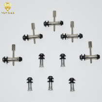 Lot Of 5 Sets Tattoo Binding Post Sets For Tattoo Machine Gun Spare Parts Accessories Supply