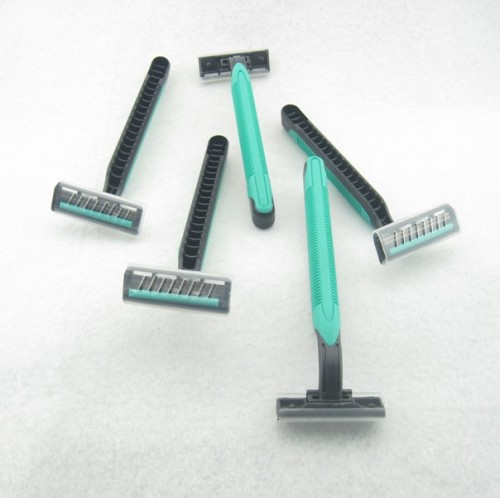 Disposable Razor - Stainless Steel Twin Blade
