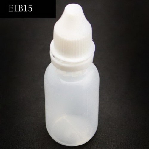 10PCS 15ml Empty Plastic Tattoo Ink Pigment Clear Bottles With Twist Cap Supply