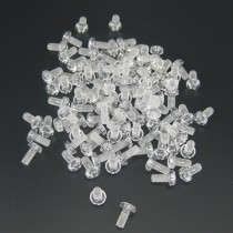 100 × Plastic Tattoo Machine Front Binding Post Screws Supply