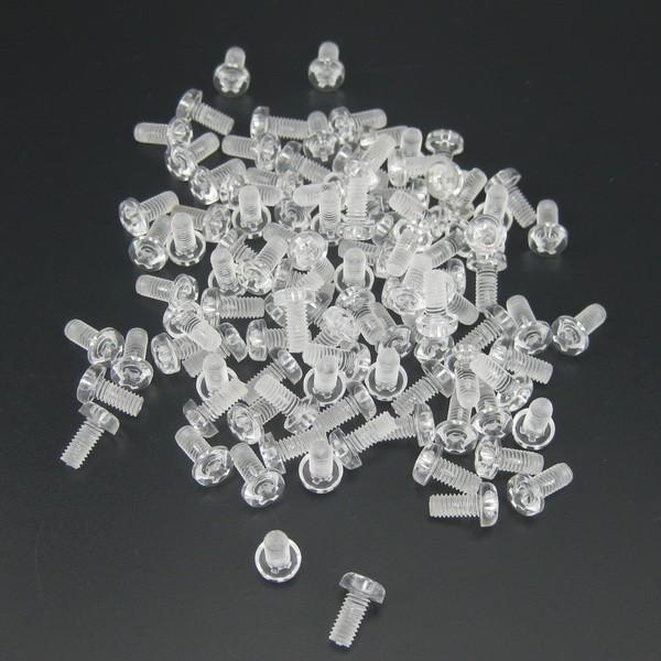 100 × Plastic Tattoo Machine Front Binding Post Screws Supply