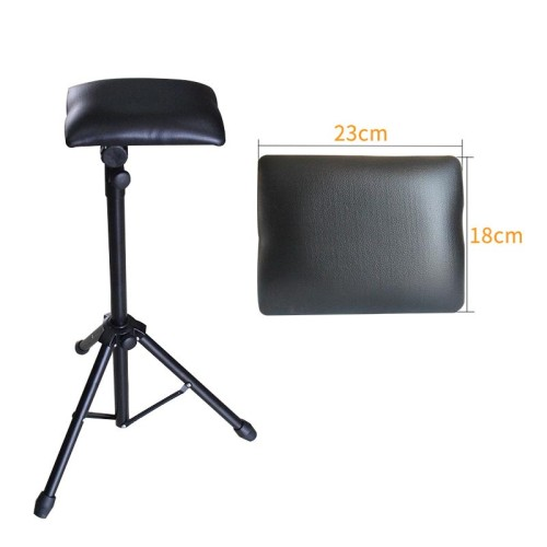 One Adjustable Tattoo Armrest Tripod Stand with Soft Sponge Pad Portable Tattoo Arm Leg Rest Tattoo Holder Supply