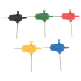 One Hex Key Allen Wrench Tool For Tattoo Machine Gun Kits Set Supply 5 Colors