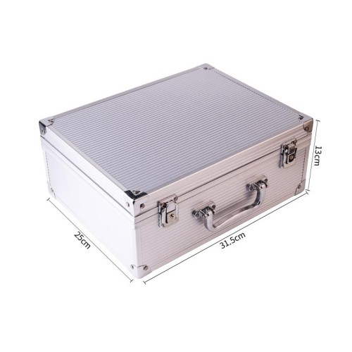 One Alloy Aluminum Carrying Case For Tattoo Machine Kit Set Supply