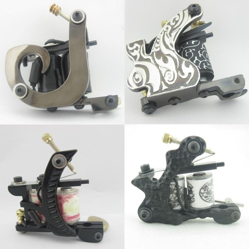 Top Tattoo Machine Gun For Kit Power Set Tattoo Tools Supply