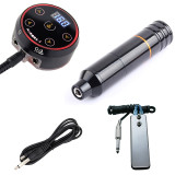 Rotary Tattoo Machine Pen With Pro Mini AURORA-2 LED Touch Pad Tattoo Power Supply