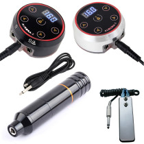 Rotary Tattoo Machine Pen With Pro Mini AURORA-2 LED Touch Pad Tattoo Power Supply
