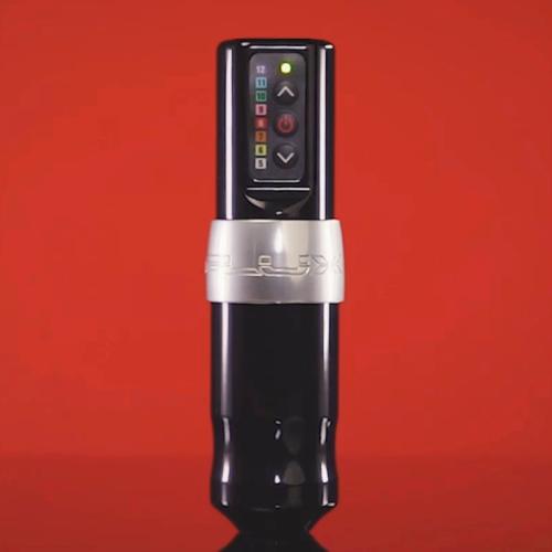 Hot New FLUX Wireless Tattoo Machine Pen,Professional Wireless Tattoo Pen Customized Coreless Motor 2400 mAh