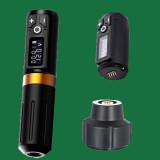 One Wireless Tattoo Battery Pen Rotary Machine Pen With Coreless Motor Digital Display Permanent Makeup Needle Cartridges Tattoo Pen Supply