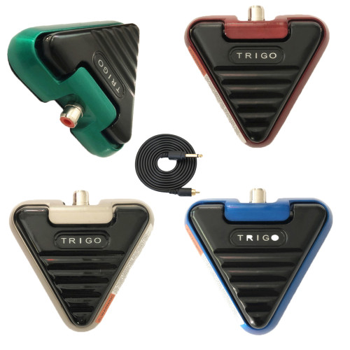 New Triangle Alloy Tattoo Foot Pedal Switch With RCA Clip Cord Premium Tattoo Foot Switch For Tattoo Power Accessories Supply