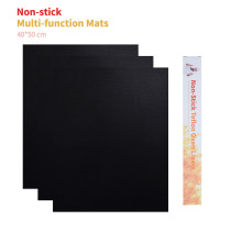 BBQ Grill Mat, Set of 3, Heavy Duty BBQ Grill Mats, Nonstick, Reusable, Easy to Clean, #1 for Charcoal, Gas or Electric or Cooking.Accessory for Heat up to 600 Degrees – Reusable - Dishwasher Safe - PFOA Free - FDA Approved