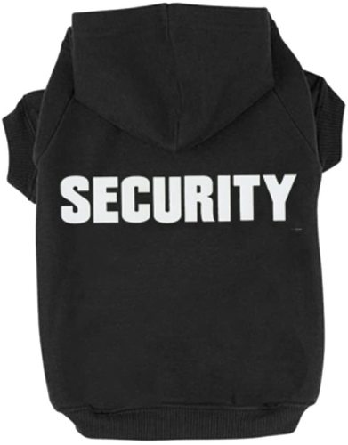 Pet Small Dog Security Print Hoodie for Cute Dogs Sweatshirt Comfort Puppy Winter Costume Hoodies