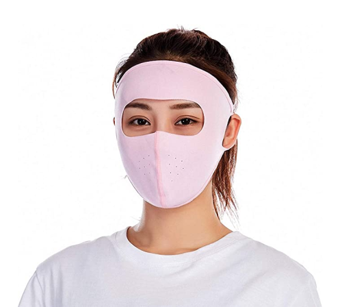 (3pcs)Face shield,Ice Silk Quick-Drying Sunscreen Dustproof Riding Shield for Outdoor Hiking & Motorcycling & Cycling