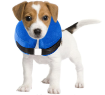 Protective inflatable collars for cats and dogs-soft pet recovery collars will not obstruct visual electronic collars