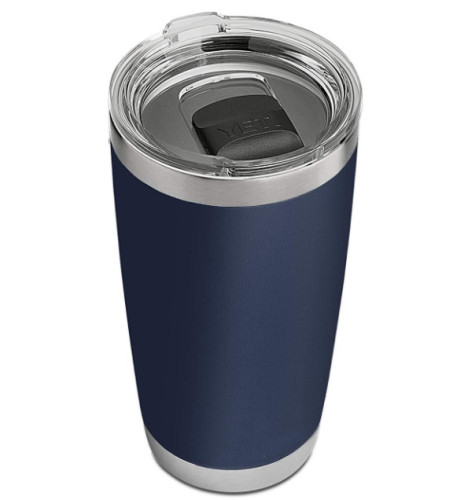20-ounce stainless steel tumbler, vacuum insulated male and female mug with lid, coffee mug, car hot water cup