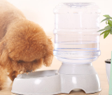 Puppy dog cat water dispenser without plug in electric water bowl automatic drinking water feeder large dog pet water basin feeding kettle