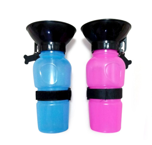 Pet dogs go out the kettle to drink water cup water bowl portable drinking fountain