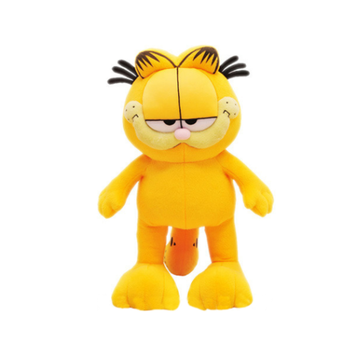 1pc 20cm hot sale! Cartoon Toy Plush Garfield Cat Plush Stuffed Toy High Quality Soft Plush Doll