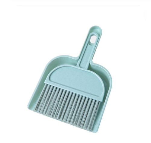 New mini desktop sweep cleaning brush small broom and dust pan set cute small broom set