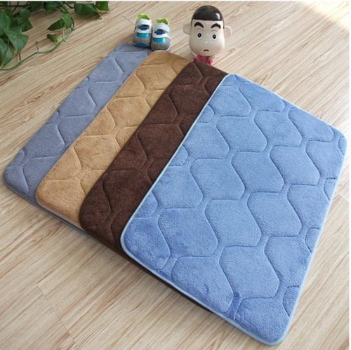 Wool doormat area carpet bathroom kitchen non-slip small rug door floor mat felted Albubra interior decoration supplies