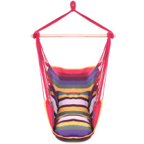 Distinctive Cotton Canvas Hanging Rope Chair (In stock in the US)
