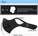 Dust Mask Reusable Activated Carbon Windproof Dustproof Masks with Filters, Adjustable Breathable Sports Face Mask for Running Cycling Motorcycle Mowing Woodworking Outdoor Activities