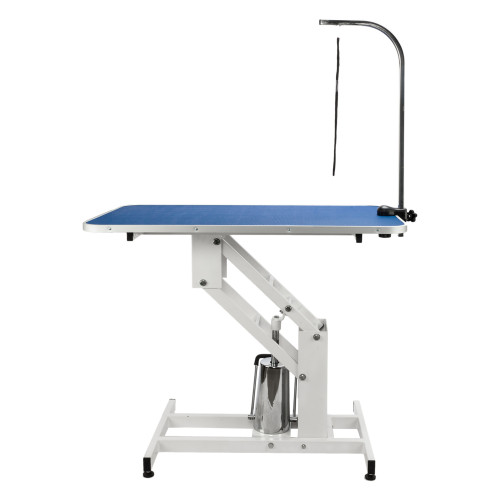 Adjustable Heavy Type Hydraulic Grooming Table Blue