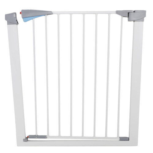 Pet Safety Gate Door Walk Through Child Toddler Pet Metal Easy Locking System