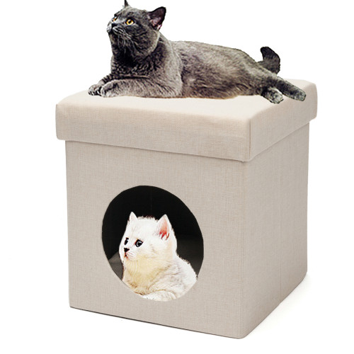 Folding Chair Cat Litter Cat Bed Cat House