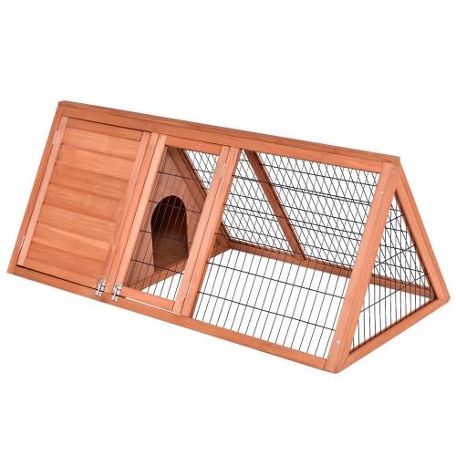 50''Wooden Rabbit Guinea Pig Hutch Wooden Rabbit Guinea Pig House