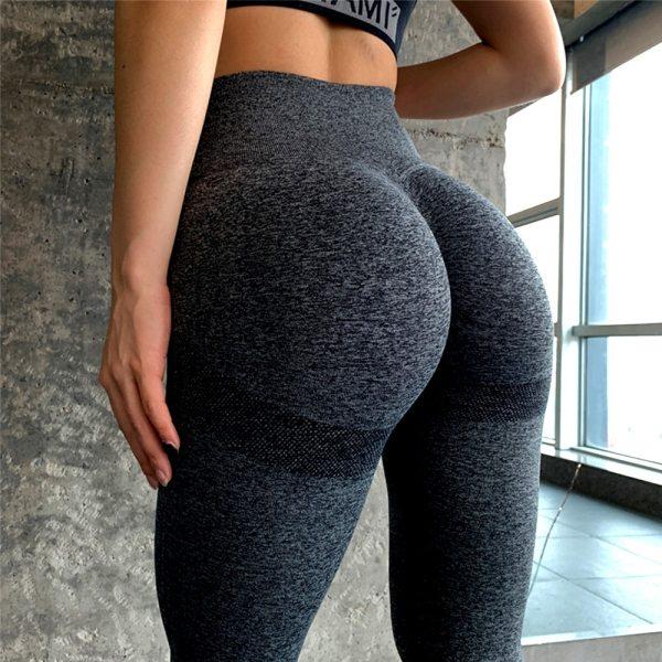 Seamless Yoga Pants Push Up Leggings For Women Sport Fitness Yoga Legging High Waist Squat Proof Sports Energy Workout Leggins