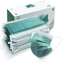 50 Pcs 4-Ply Disposable Face Masks PFE 99% Filter Tested by Nelson Labs USA