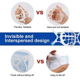 10 Pcs 3D Mask Bracket, Silicone Mask Bracket Inner Support Frame for More Breathing Space, Comfortable, Reusable&Washable